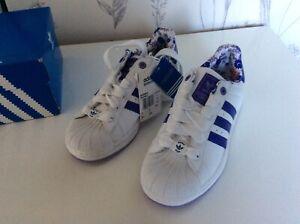 Adidas Superstar 2 Originals Trainers size UK4