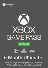 Xbox Game Pass Ultimate + Live Gold | 6 Months | 12 x14 Day | Xbox PC | INSTANT