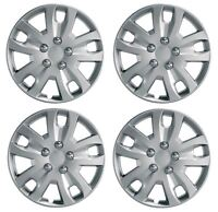 UKB4C Pair Of Silver 14 Caravan Wheel Trims Hub Caps for Bailey Pageant Champagne 2000
