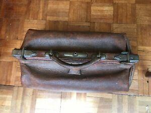 Vintage / Antique Gladstone / Doctor's Bag
