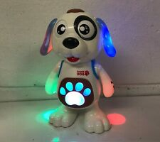 wa wa Dancing Dog Interactive Plays Music with Lights Boys Girls XMAS GIFT TOYS