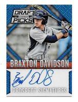 2014 Braxton Davidson Panini Prizm Draft Picks Blue Mojo Prizm Rookie Auto /75