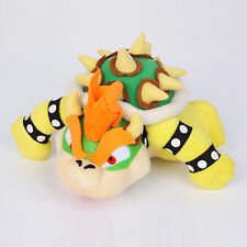 New Super Mario Brothers Bowser King Koopa Anime Plush Doll Toy 10 inches