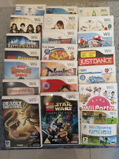 Nintendo Wii Games - Pick from selection - check back often for new additions