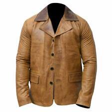 Men's Arthur Morgan Cafe Racer Biker Read Dead Redemption 2 Movie Leather Jacket