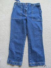 Women's Motherhood Maternity Blue Jean Capris/Pants Size Small s Straight Leg