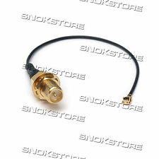 CAVO CABLE U.FL / IPX to RP SMA male PIGTAIL PER ROUTER WIFI RETI WIRELESS modem