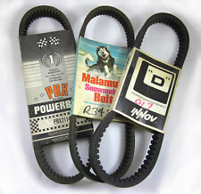 ALL VINTAGE SNOWMOBILE BELTS AMF SKIWHIZ CHAPARRAL RUPP