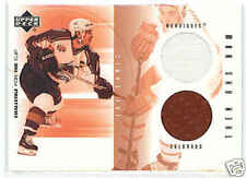 01-02 UD Challenge for the Cup Joe Sakic Dual Jersey