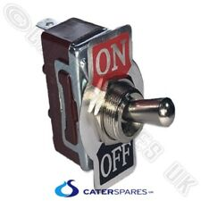TOGGLE SWITCHES ON/OFF 230VAC COMMERCIAL CATERING SPARES