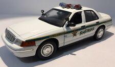 1/18 MotorMax Custom Ford Crown Vic Columbia County Sheriff Police Car