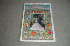 THE ILLUSTRATED LONDON NEWS Magazine 22 May 1954 - Queen Elizabeth Welcome Home