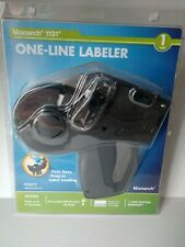 Monarch Labeler Price Gun Model 1131, 1-Line, 8 Characters/Line Mnk925072 New