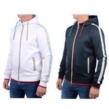 Mens CROSSHATCH Tracksuit Top Full zip Hoodie Top Hood Size S M L XL 2XL