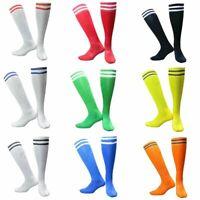 1Pair Mens Socks Soccer Baseball Football Basketball Sport Over Knee High Sock