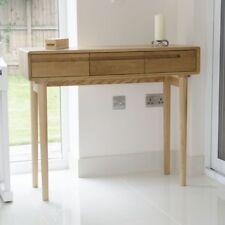 Winton Solid Oak Hallway Furniture Hall Console Table