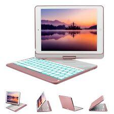Apple iPad 9.7 2018 / 2017 Keyboard Case 360 Rotate Smart Keyboard Full Cover