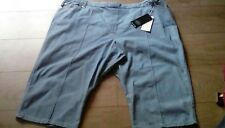 Ladies M&S classic Collection Tapered leg Crop denim jeans  size 24 short tags
