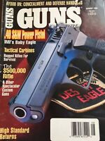 Guns Magazine Aug 1995, .40 S&W Power Pistol