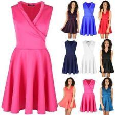 Vestidos de mujer talla M color principal azul de poliéster