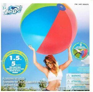 Bestway 152cm Giant Multicoloured Beach Ball 2pack