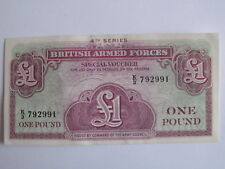 BRITISH ARMED FORCES £1 ONE POUND BANKNOTE 4th SERIES