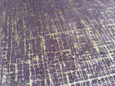 Clarke Clarke Metallic Distressed Antique Upholstery Fabric Patina Damson 12.25y