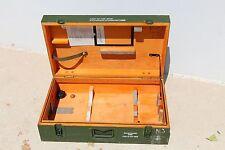Original Bundeswehr Aufbewahrungskiste Holz Kiste Transportbox 67,5 X 39,5
