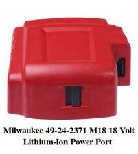 New USB DC 18V Adapter for Milwaukee 49-24-2371 M18 Li-ion Battery Power Source