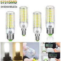E14 E27 Led Corn Light Lamp 5731 SMD Lights Bulb Candle LED Lampada AC120V 220V