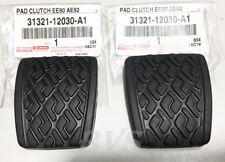 GENUINE CLUTCH BRAKE PEDAL PAD For 87-93 Toyota Corolla AE92 EE90 31321-12030-A1