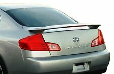For Infiniti G35 4D 03-06 ABS Trunk Rear Wing Spoiler Unpainted