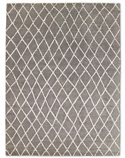 Restoration Hardware Pezza Silver Hand Knotted Rug 5x7 ft. Wool $2895