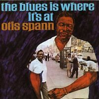 Otis Spann - The Blues Is Where It's At (1994)  CD  NEW/SEALED  SPEEDYPOST