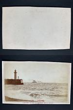France, Le Havre, Le port  Vintage cdv albumen print, CDV, tirage albuminé, 6