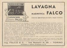 Z1224 Lavagna magnetica FALCO - Pubblicità d'epoca - 1932 Old advertising