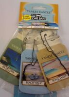 Yankee Candle 3 For 2 Bonus Pack Car Jar Car Air Freshener Beach Vacation