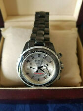 CHANEL J12 Chronograph Chrome Ceramic 41mm  Automatic Men's Watch