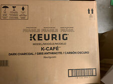 Keurig K-Cafe Single Serve Coffee, Latte & Cappuccino Maker - Dark Charcoal New