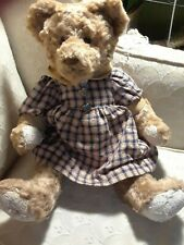 "Gund Barton's Creek Collection Anne 15"" bear by Hildegard Gunzel bendable Ltd Ed"