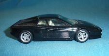 145A Kit artisanal Base Burago Ferrari Testarossa noir 1:43