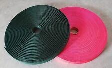"Polypropylene Webbing 50 Yards x 1-inch; 1"" Wide Strap Webbing"