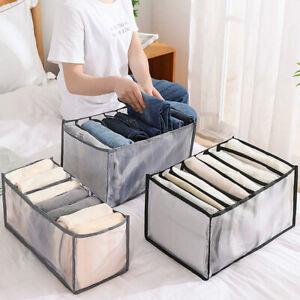 Large Storage Boxes Organizer Drawer Clothes Pants Divider Wardrobe Closet  GE