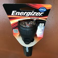 NEW Energizer LED 2D Torch Flash Light BLACK