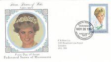 (02399) Micronesia FDC Princess Diana Death 26 November 1997