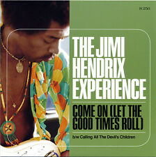 "JIMI HENDRIX 'Come on (Let Good Times Roll) 7"" vinyl psychedelic stratocaster LP"