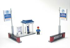 Lego Custom Parking Pay Shelter  City Town