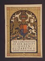 "Uinted Kingdom Book of 1953 ""The Coronation of Her Majesty Queen Elizabeth II"""