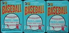1983 DONRUSS UNOPENED WAX PACKS (3) - SANDBERG/BOGGS/GWYNN ROOKIES POSSIBLE