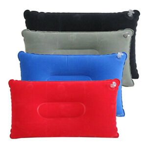 Outdoor Camping Traveling Beach PVC Inflatable Pillow  Mattress Tent Use Tool